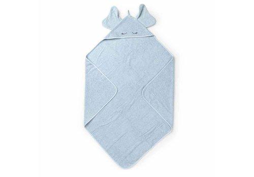 Liewood Liewood Handdoek Olifant Blauw