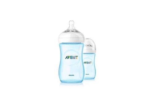 Avent Avent Natural Feeding Bottle 260 ml Duo Blue