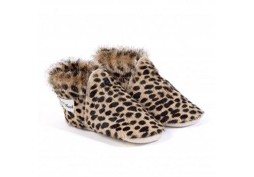 Petit Nord Babyschoentjes Calf Leopard