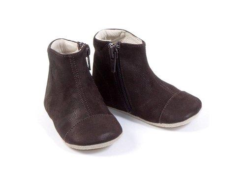 Petit Nord Shoen Met Rits Bruin