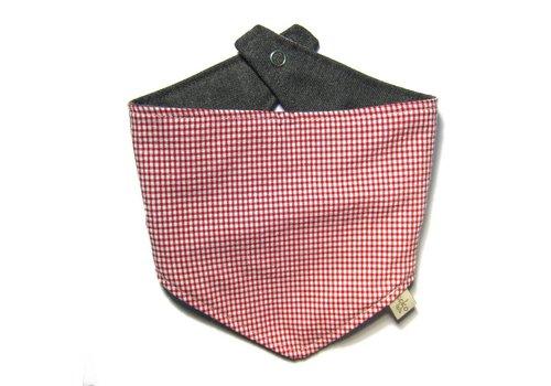 Kokolala Kokolala Burp Cloths Vichy Red