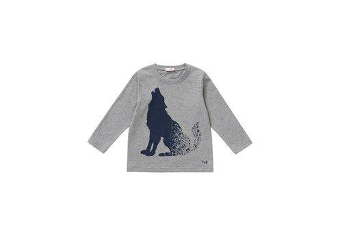 Il Gufo Il Gufo T-Shirt Grijs Wolf