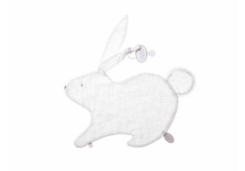 Dimpel Dimpel Cuddle Cloth Tuttie Emma Rabbit Tetra White