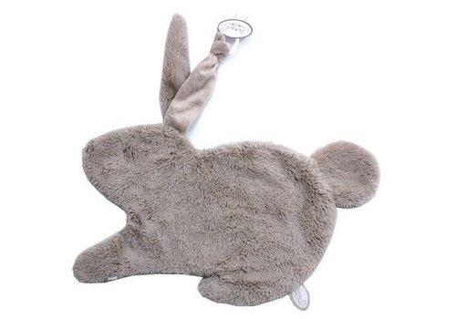 Dimpel Dimpel Cuddle Cloth Tuttie Emma Rabbit With Long Hair Beige