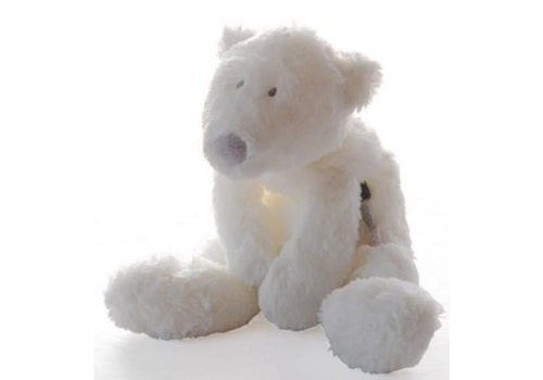 Dimpel Dimpel Knuffel P Timo Baby Ijsbeer 22 cm Wit
