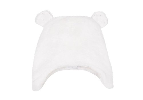 Absorba Absorba Hat With Ears Off-white
