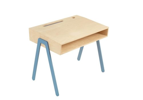 In2wood In2wood Bureau Blauw