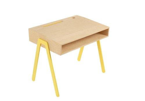 In2wood In2wood Desk Yellow