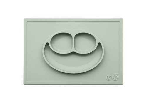 EZPZ EZPZ Placemat + Plate Happy Mat Sage