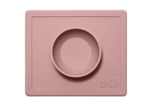EZPZ EZPZ Placemat + Bowl Happy Bowl Blush