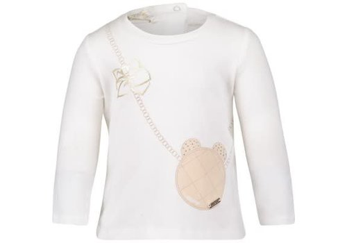 Liu Jo T-Shirt Ecru Handtasje