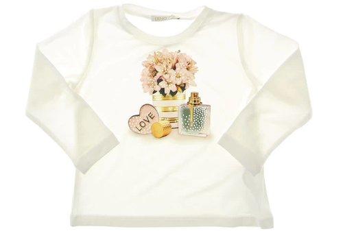 Liu Jo Liu Jo T-Shirt Ecru Parfum