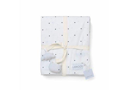 Liewood Liewood Bedlinnen 100 x 140 Ingeborg Classic Dot White