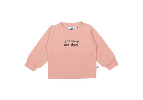 Cos I Said So Cos I Said So T-Shirt Lange Mouwen Be You Not Them Roze