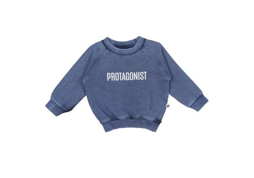 Cos I Said So Cos I Said So Trui Protagonist Afgewassen Blauw