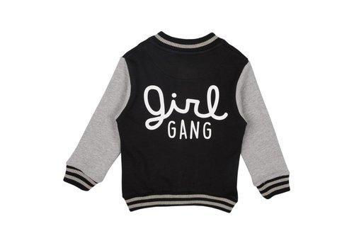 Cos I Said So Cos I Said So Jacket Baseball Girl Gang Zwart