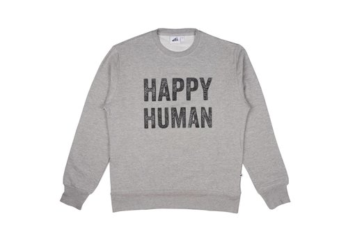 Cos I Said So Cos I Said So Sweater Adult Men Happy Human Grijs