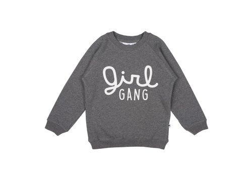 Cos I Said So Cos I Said So Sweater Girl Gang Antraciet