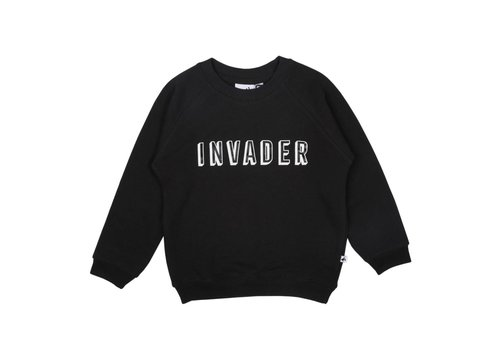 Cos I Said So Cos I Said So Sweater Invader Zwart
