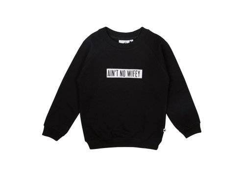Cos I Said So Cos I Said So Sweater Wifey Zwart