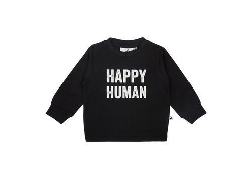 Cos I Said So Cos I Said So T-Shirt Lange Mouwen Happy Human Zwart