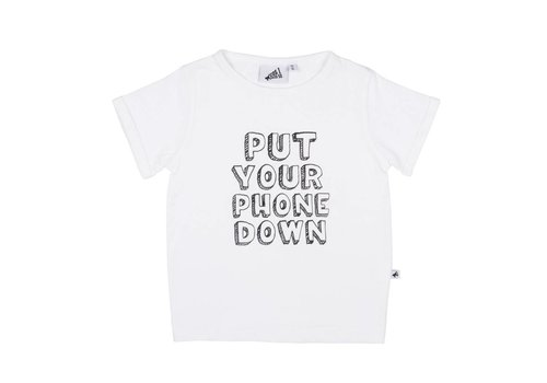 Cos I Said So Cos I Said So T-Shirt Phone Down White