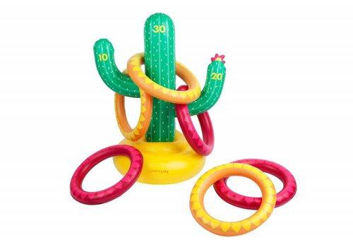 Sunnylife Sunnylife Opblaasbaar Ringspel Cactus
