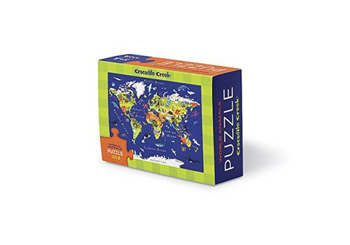 Bertoy Bertoy Matchbox Puzzle - World Map