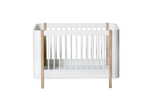 Oliver Furniture Oliver Furniture Bed Wood Mini+ Wit - Eik 0 - 9 Jaar
