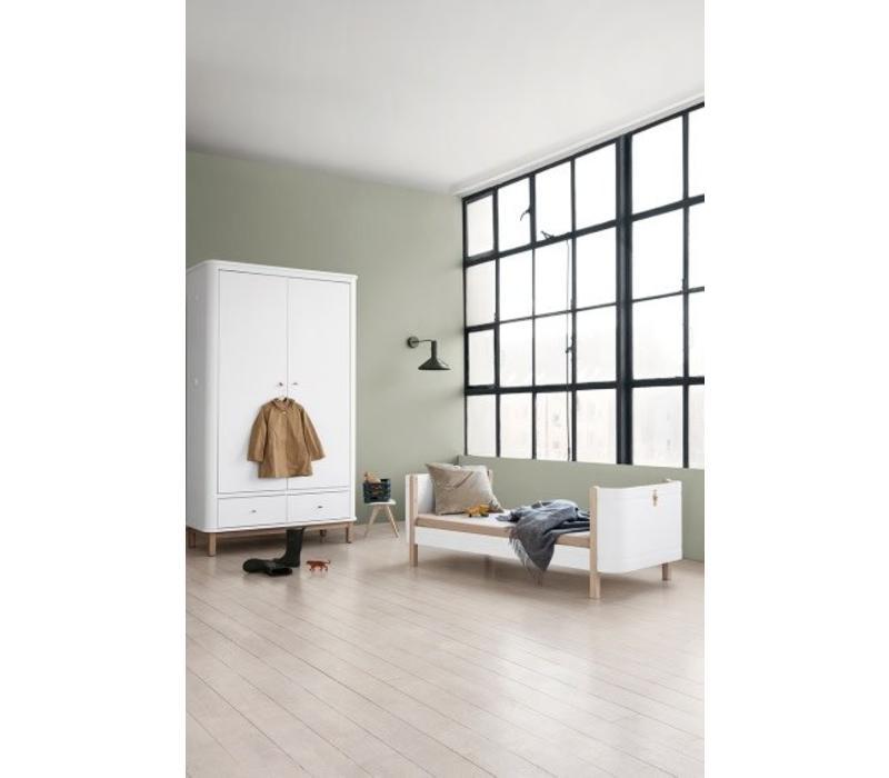 mini furniture. Oliver Furniture Bed Wood Mini+ Wit - Eik 0 9 Jaar Mini