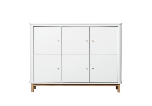 Oliver Furniture Oliver Furniture Closet Multi Cupboard White - Oak