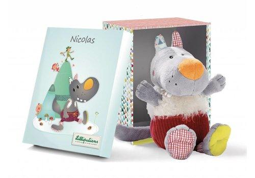 Lilliputiens Lilliputiens Nicolas Cuddle Wolf Box