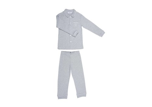 Cotolini Cotolini Pyjama Charlie Jersey Grijs