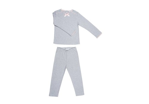 Cotolini Cotolini Pyjama Chloe Grijs - Roze