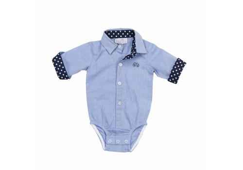 Natini Natini Body Shirt Spots Blue