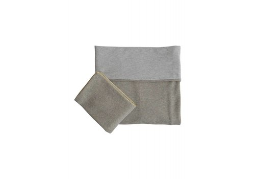 Coco & Pine Coco & Pine Duvet Cover Small Jersey Grey/Gold
