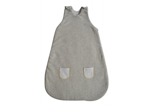 Coco & Pine Coco & Pine Sleeping Bag Jersey Grey/Gold