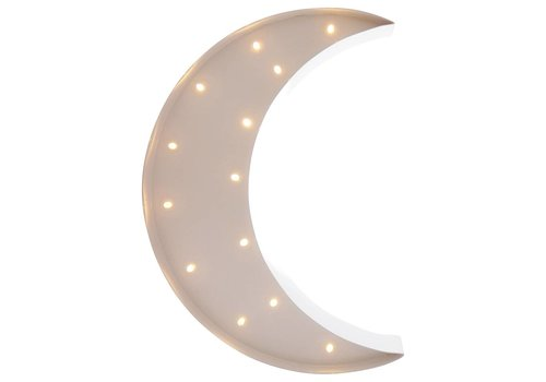 Sweetlights Sweetlights Moon 30 cm White