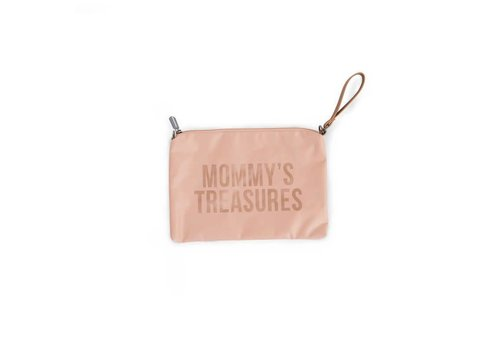 Childhome Childhome Mommy Clutch Toilettas Roze - Copper