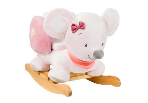 Nattou Nattou Rocking Horse Adèle & Valentine Mouse