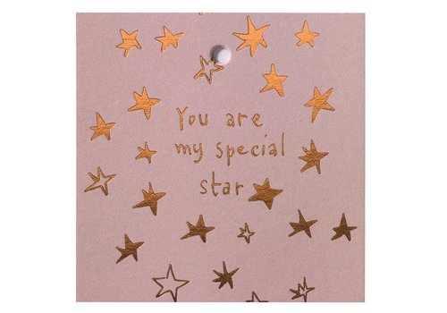 Papette Papette Mini Card 'You Are My Special Star'