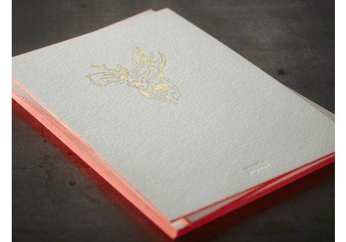 Papette Papette Kaart + Envelop Bambi 115 x 165 mm