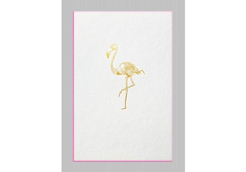 Papette Papette Card + Envelope Flamingo 115 x 165mm