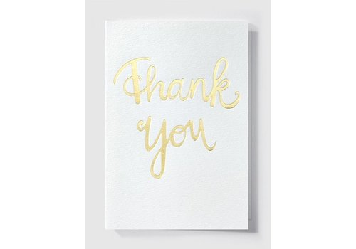 Papette Papette Greeting Card 'Thank You'