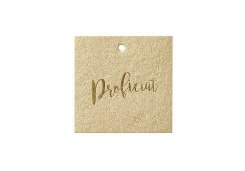 Papette Papette Greeting Card 'Proficiat'