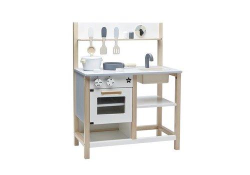 Kids Concept Kids Concept Kitchen Natural-White