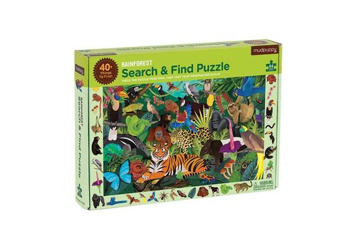 Bertoy Bertoy Search And Find Puzzle Rainforest 64 Pieces