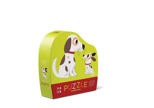 Bertoy Bertoy Mini Puzzel - Puppy Liefde 12 St.