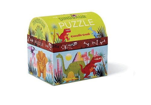 Bertoy Bertoy Mini Dubbel Plezier Puzzel Dinosaurus 24 Stuks