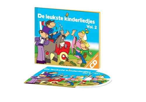 Kids Marketeers Kids Marketeers De Leukste Kinderliedjes Vol2 CD + Boek